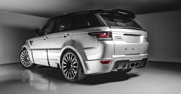 Strhující úprava elitního Range Roveru Sport San Marino od ONYX Concept 1