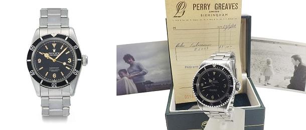 Hodinky Rolex koupené 50 let zpět za 69 liber se nyní prodávají za 100 000 liber 1