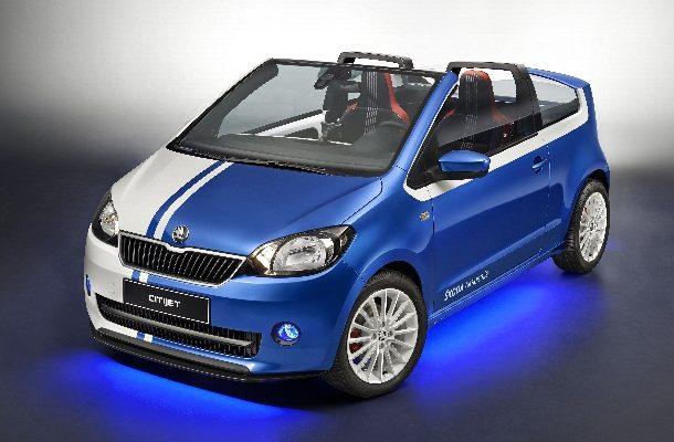 Studenti z Česka postavili dvoumístný kabriolet Škoda Citijet 1