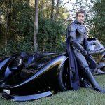 Mladík strávil výstavbou funkčního Batmobilu určeného na silnice dva roky!