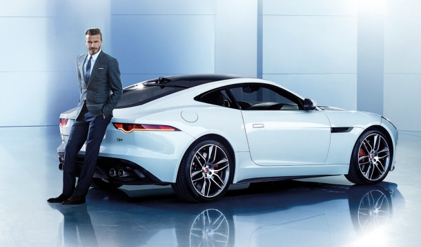 David Beckham, nová tvář automobilky Jaguar 1