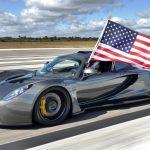 Rekord překonaný! Nejrychlejším sériově vyráběným autem je Hennessey Venom GT