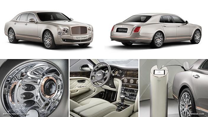 """Bentley Hybrid Concept: nejdražší """"elektrická"""" limuzína 1"""