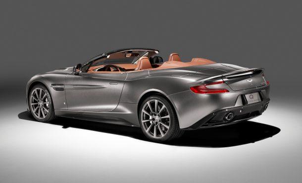 Britská společnost Q osedlala Aston Martin DB9 Volante. Výsledek stojí za to a pomůže charitě 1