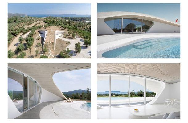 Letní Řecká vila uprostřed olivovníků vás jistě okouzlí 1