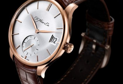 Luxusní značka H. Moser   Cie doplňuje kolekci Venturer o nové modely v  provedení Big Date 95ae9ad2995