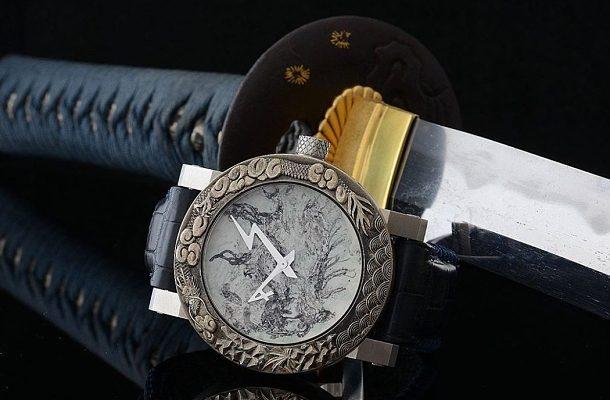 Unikátní hodinářská díla ArtyA a kultovní Japonské meče na jednom místě 1