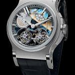 Značka Hysek představuje první mechanické hodinky s dvojitým tourbillonem a automatickým natahováním 7