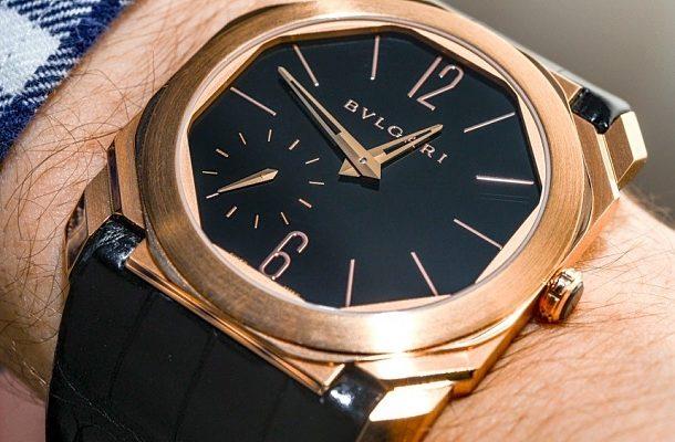 Bulgari Octo Finissimo: světově nejtenčí hodinky s minutovou repeticí 1
