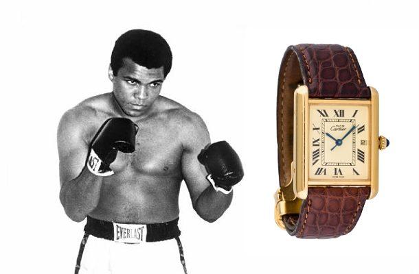 Legend Muhammad Ali a jeho legendární hodinky inspirované 1. světovou válkou 1