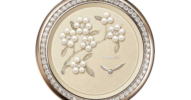 Métiers D 'Arts a hodinky značky Chanel 1