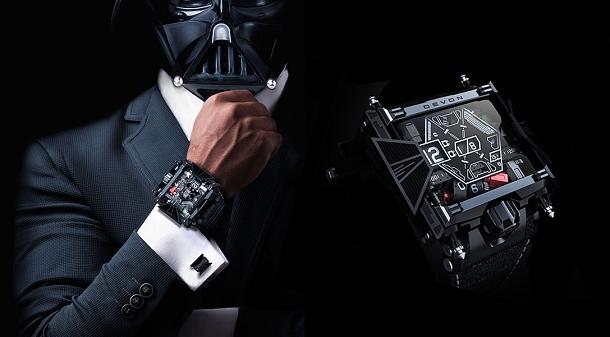 Luxusní hodinky inspirované hvězdnými válkami 1