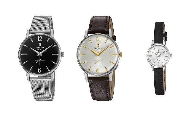 Nadčasová kolekce kultovních hodinek Festina Extra Collection opět na scéně 1