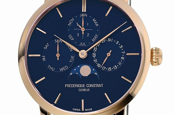 Frédérique Constant Slimline Perpetual Calendar Manufacture okouzlí jednoduchostí a cenou 1