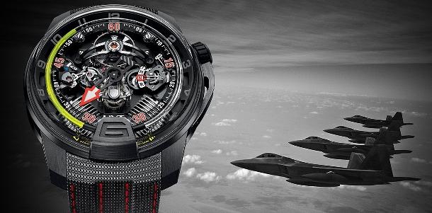HYT H2 Aviator - Novodobé hodinky pro piloty 1