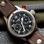 Jednotlačítkový pilotní chronograf Pioneer Monocontrol značky Hanhart