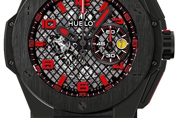 10 nejstylovějších hodinek Hublot Big Bang Ferrari 1