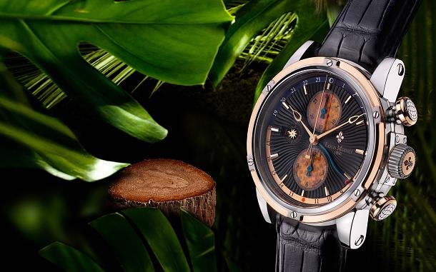 Luxusní hodinářská značka Louis Moinet předvádí Jurský park a tropické dešťové pralesy 1