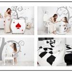 Luxusní nábytek z Polska, jehož každý kus vypráví část příběhu Alice ze země zázraků 3