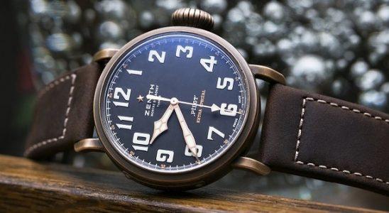 Legendární pilotní hodinky Zenith z bronzu 7
