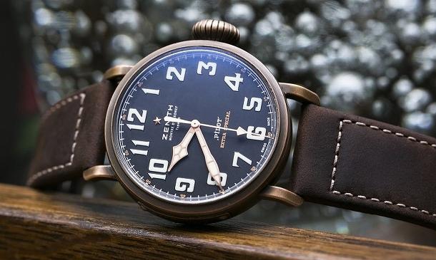 Legendární pilotní hodinky Zenith z bronzu 1