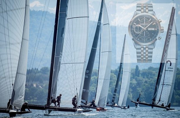 Raymond Weil s novými hodinkami jako partner jachtingového klubu Realteam 1