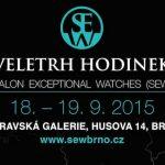 Soutěž o VIP pozvánku pro dvě osoby v hodnotě 50€ a unikátní výstavu hodinek v Brně 3