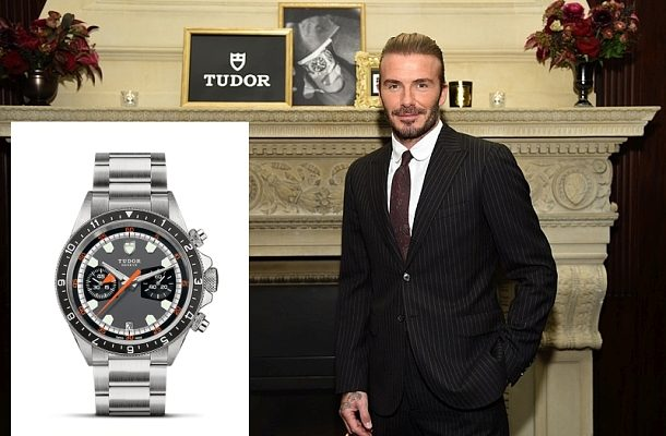 David Beckham se stal novou tváří značky Tudor 1