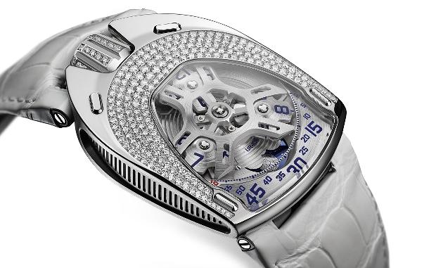8d00fb23f25 Urwerk UR-106 Lotus jsou první dámské hodinky vyrobené touto avantgardní  luxusní značkou.