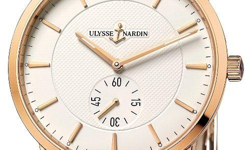 Ulysse Nardin Classico - první hodinky této modelové řady s in-house strojkem 3