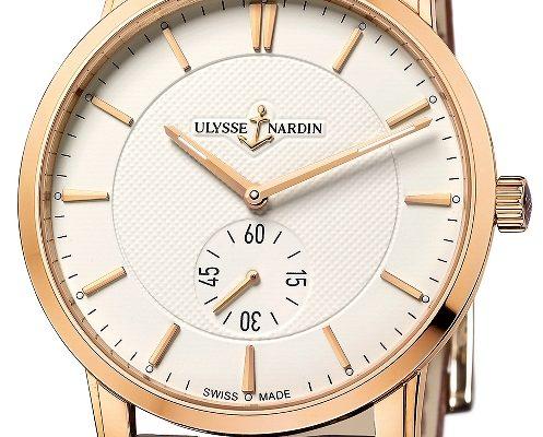 Ulysse Nardin Classico - první hodinky této modelové řady s in-house strojkem 1