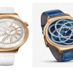 Luxusní hodinky Huawei se zirkony od Swarovski a růžovým zlatem určené pro ženy
