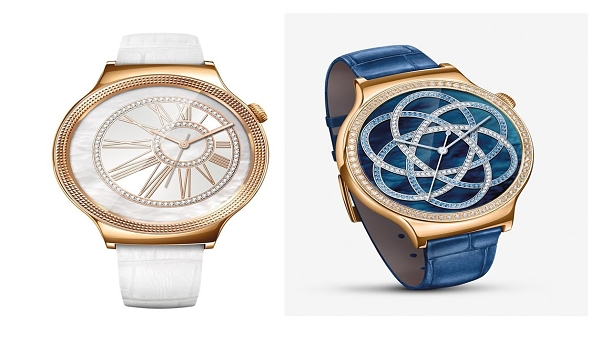 Luxusní hodinky Huawei se zirkony od Swarovski a růžovým zlatem určené pro ženy 1