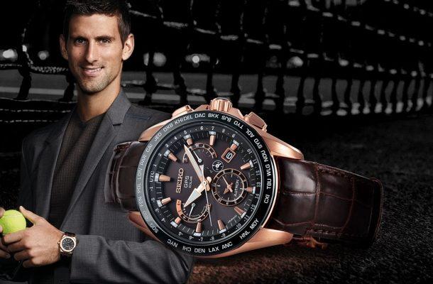 Seiko vzdává hold Djokovičovi novou limitovanou edicí hodinek Astron GPS Solar Dual-Time Novak Djokovic 1