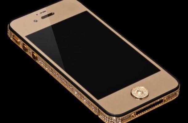 IPHONE 5 Z ČISTÉHO ZLATA A DIAMANTŮ ZA MILION DOLARŮ 1