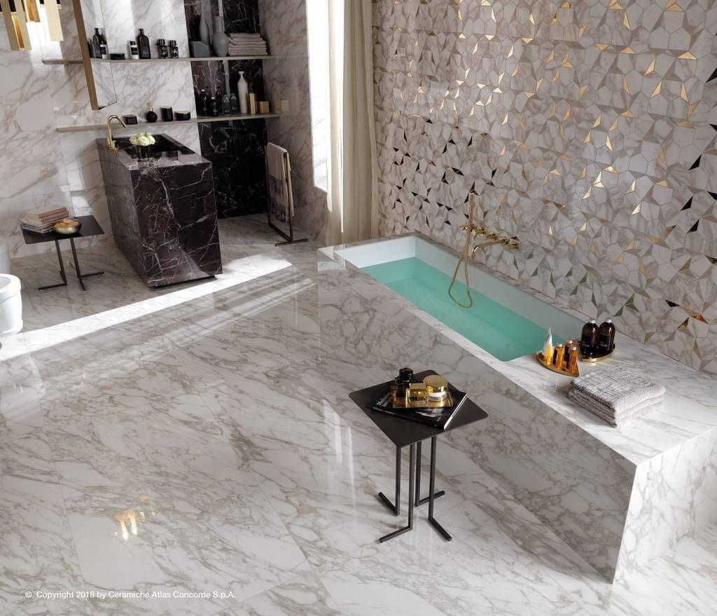 Dotek luxusu ve vaší koupelně zajistí obklady Atlas Concorde 3