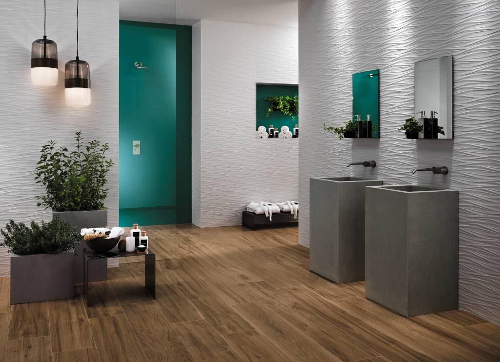 Dotek luxusu ve vaší koupelně zajistí obklady 3