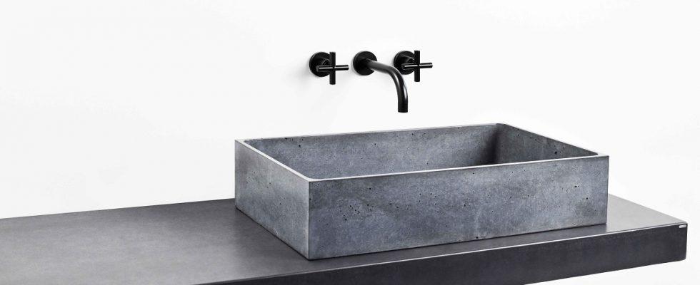Betonová umyvadla Gravelli: jedinečné tvary z materiálu, jež vás nadchne 1