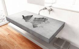 Atypická umyvadla do moderních koupelen 1