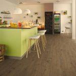 4 nenákladné možnosti podlahy v kuchyni 2