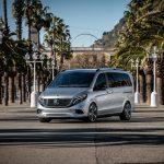 Mercedes EQV elektrický minibus 5