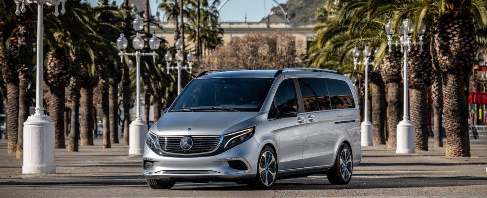 Mercedes EQV elektrický minibus 1