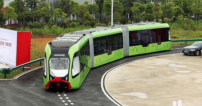 První smart vlak na světě. 1