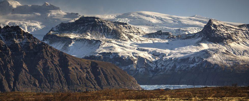 Národní park Vatnajökull na Islandu 1