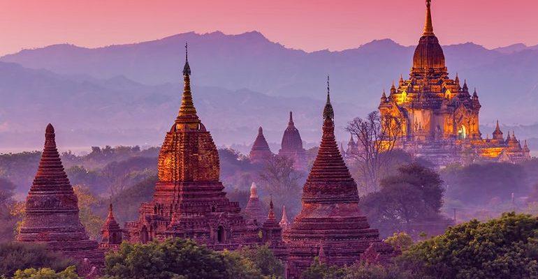 Nejvýznamnější buddhistické památky v Myanmaru 1