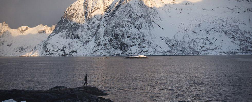 Pěší turistika v norském Helgelandu 1