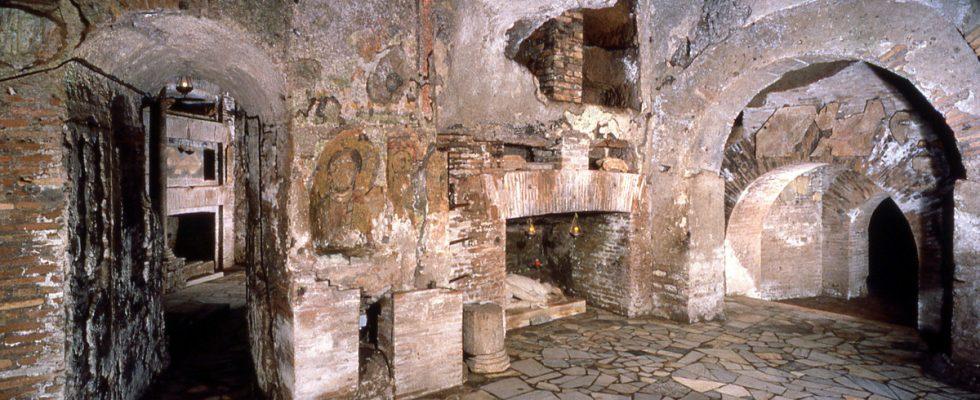Návštěva katakomb v Římě i jinde v Itálii 1