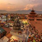 Uličky a chrámy v Kathmándú 7
