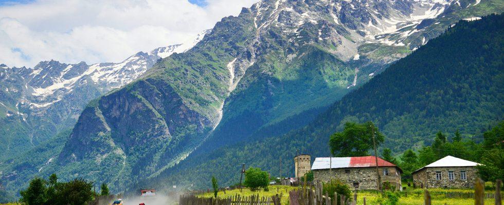 Transkavkazská stezka v Gruzii 1
