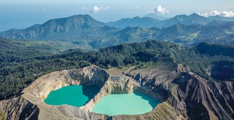 Sopky v Indonésii 1